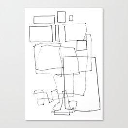 Line01 Canvas Print