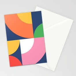 Abstract Geometric 17 Stationery Cards