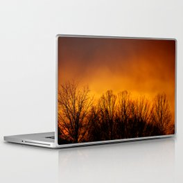 Too Close to the Fire Laptop & iPad Skin