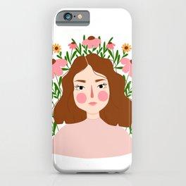 Flourishing Girl iPhone Case