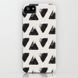 Triangle Pattern I iPhone Case