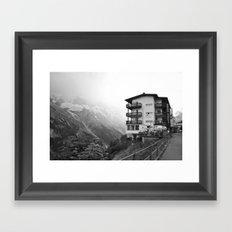 Murren Swiss Landscape Framed Art Print