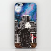 cityscape iPhone & iPod Skins featuring Cityscape by Toa's Wildscape