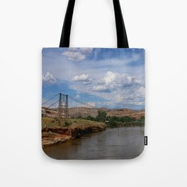 Dewey Bridge Ruins Tote Bag
