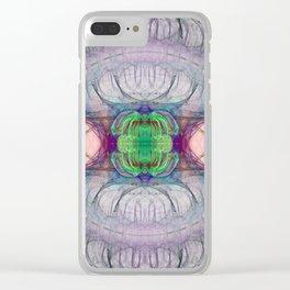 Bifrost Nebula Clear iPhone Case