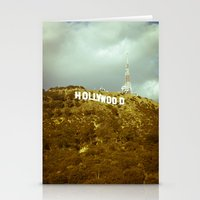 hollywood Stationery Cards featuring Hollywood by Umbrella Design