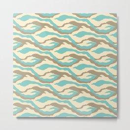Waves & Sky Metal Print
