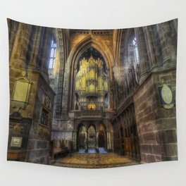 God Is With You Always Wall Tapestry