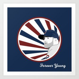 Forever Young (Cubs Win) Art Print