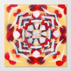 Whiteexbloodmoths Canvas Print
