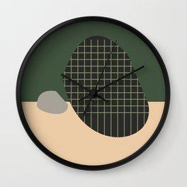 Fall Winter Wall Clock
