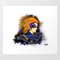 fire emblem Art Prints featuring Fire Emblem Awakening - Gerome by inkjamz