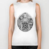 illuminati Biker Tanks featuring Illuminati by SAMMO