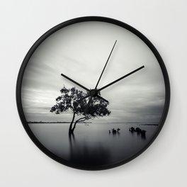East Point Mangrove Wall Clock