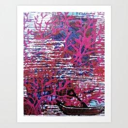 The Plum Tree Art Print