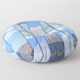 Parallel Universe Floor Pillow