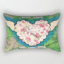 Open Hearts - Let Love Flow Rectangular Pillow