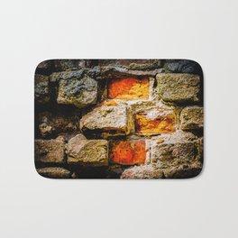 Bricks And Mortar Bath Mat