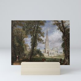 John Constable - Salisbury Cathedral from the Bishop's Garden Mini Art Print