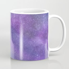 Deep Purple Milky Way Stars Coffee Mug
