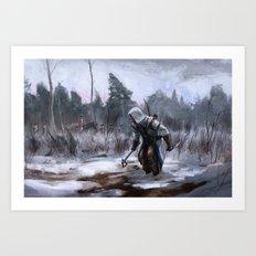 Assassins Creed - Connor Art Print