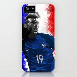 Paul Pogba - France iPhone Case