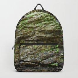 Cracked rocks Backpack