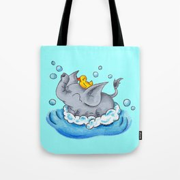 Bubble Bath Buddy Tote Bag