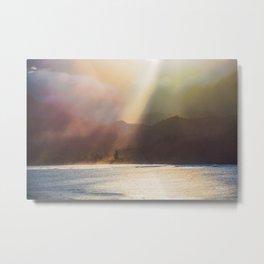Napali Coast Sunset Metal Print