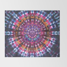 Tie Dye Pattern Throw Blanket