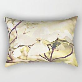 Dogwood in bloom Rectangular Pillow