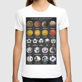 The World Cup Balls T-shirt