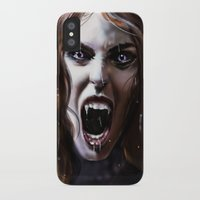 bride iPhone & iPod Cases featuring Bride by Lily Fitch