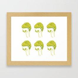 Fringe with Benefits Framed Art Print