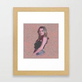 Zara Larsson Desain 006 Framed Art Print