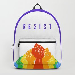 Resist (Pride) Backpack