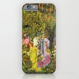 In the Magical Garden of Paradise by Dugald Stewart Walker iPhone Case