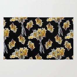 Beautiful Australian native Floral Print Rug