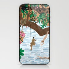 The Jungle Beach iPhone & iPod Skin