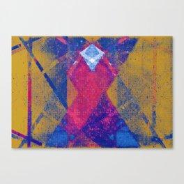 differentials (diamond x) Canvas Print