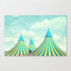 circus tent 2 Canvas Print