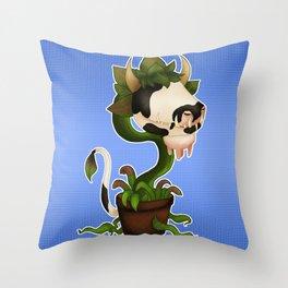 Sims Laganaphyllis Simnovorii Throw Pillow