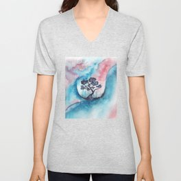 Abstract nature 02 Unisex V-Neck