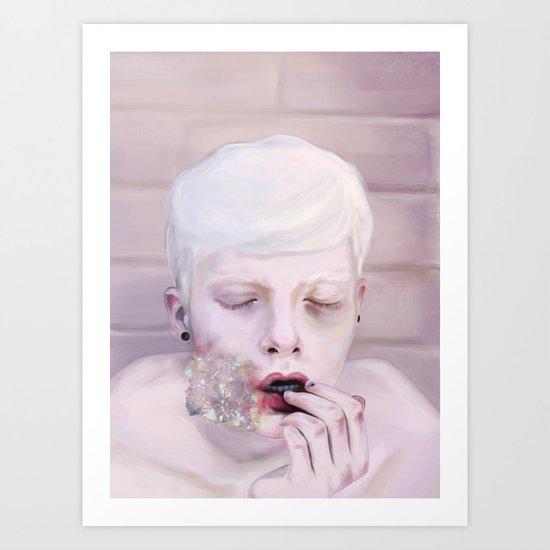 Iridescent  Art Print