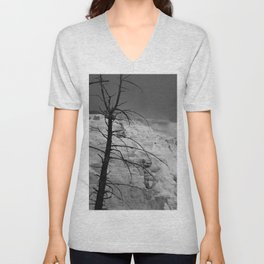 Mystical View Over Minerva Spring Unisex V-Neck