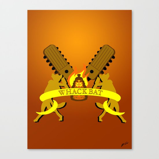 WHACK BAT Canvas Print