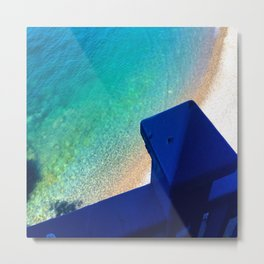 Into the Mediterranean Sea Metal Print