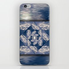 Meditational Clouds Mandala iPhone & iPod Skin