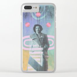 Three Marys Clear iPhone Case