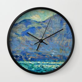 Mt. Beacon At Newburgh - Digital Remastered Edition Wall Clock